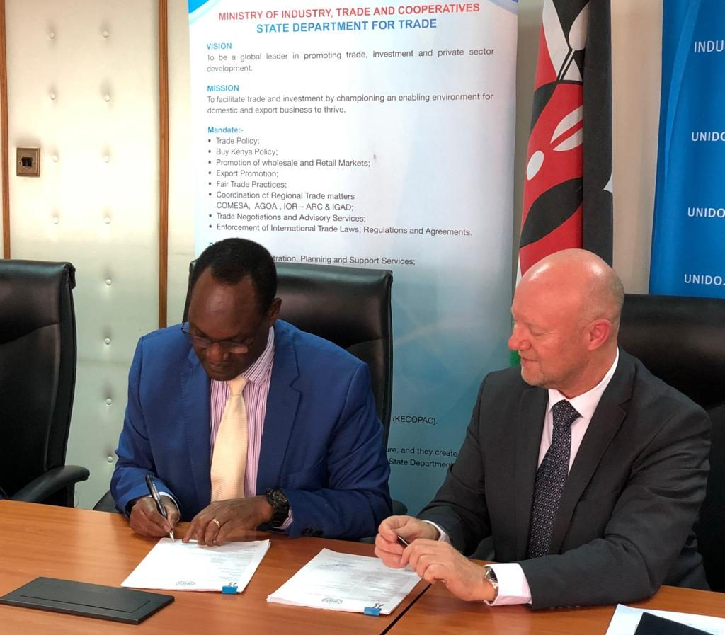 Kenya signs 3.7m Euro trade deal to boost agricultural exports 1