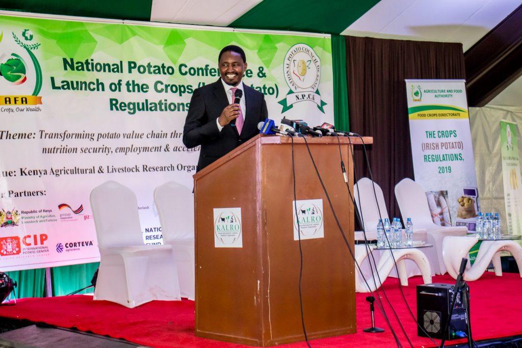 Official Launch of the Irish potato regulations12