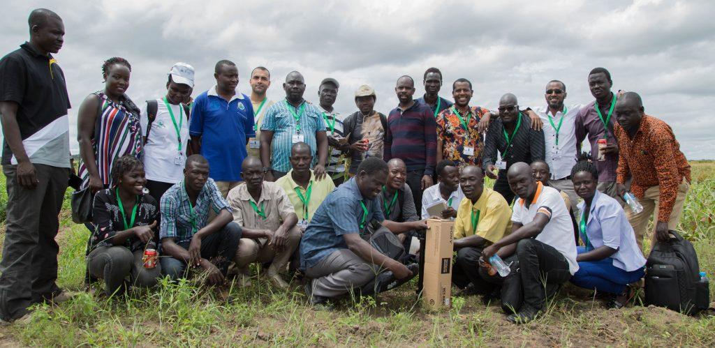 South Sudan Digital Green training