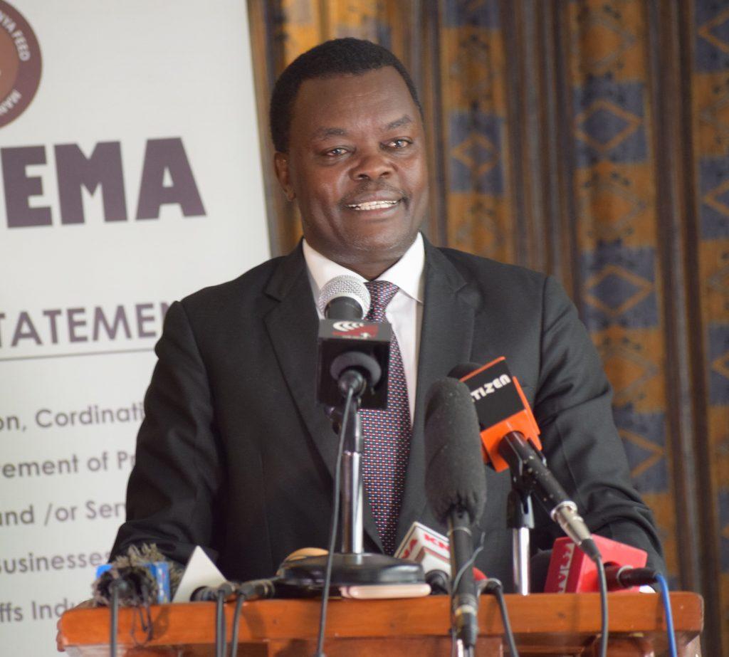 AKEFEMA Chairman Joseph Karuri
