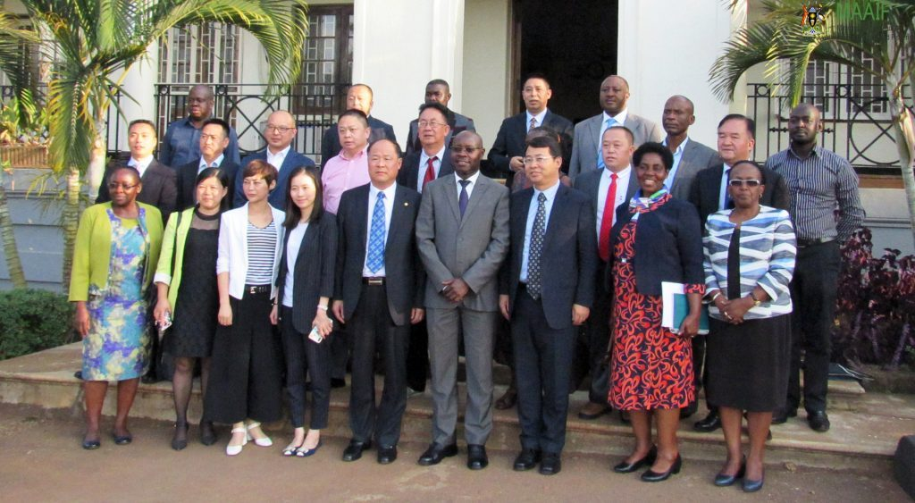 Uganda China delegation