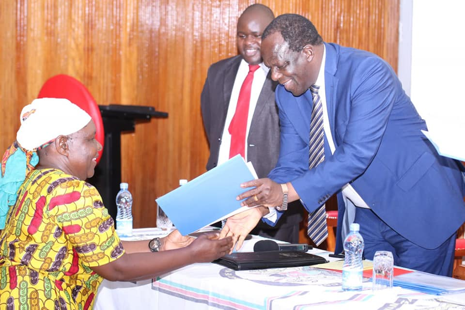 Kakamega County inaugurates market committees 1