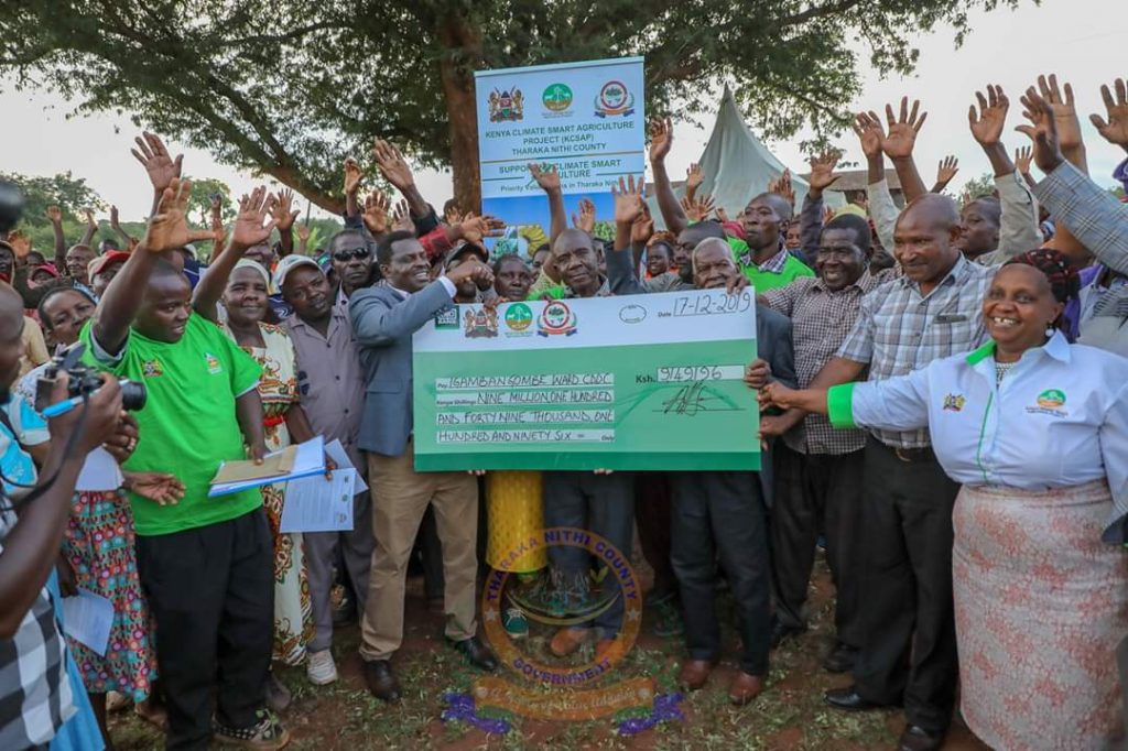 Kenya Climate Smart Agriculture partners with Tharaka Nithi County to fund micro-projects 1