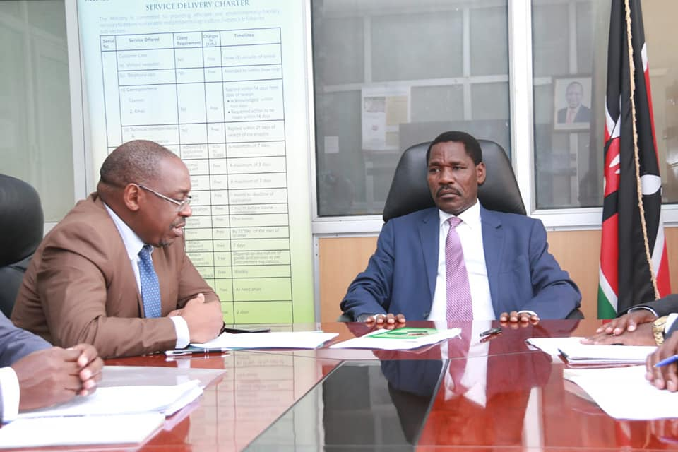 We are in control of the locust situation - Munya 1