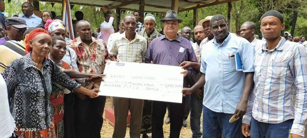 Vikundi Lamu vyafaidika na mpango wa Kenya Climate Smart Agriculture 2