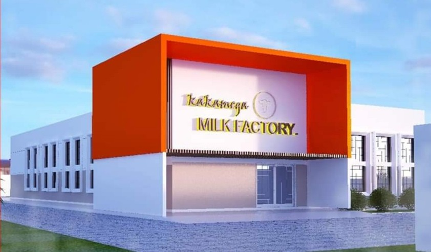New milk plant coming up in Kakamega County 1