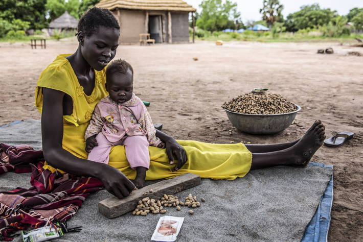 Hunger threatens over half of the population in South Sudan 1