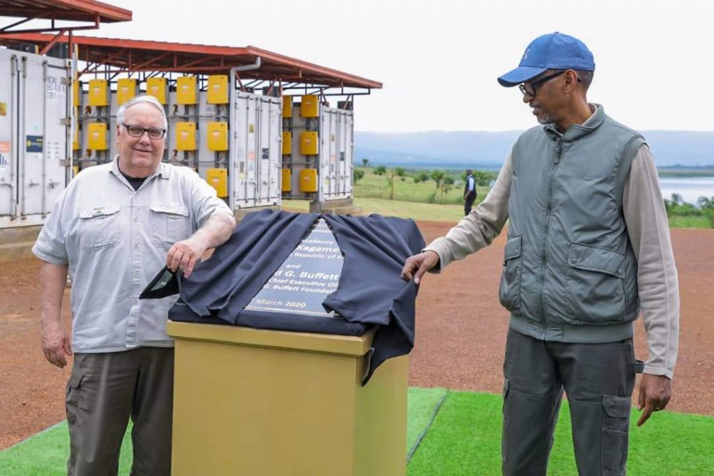 President Kagame inaugurates a solar-powered irrigation scheme in Kirehe District. 1