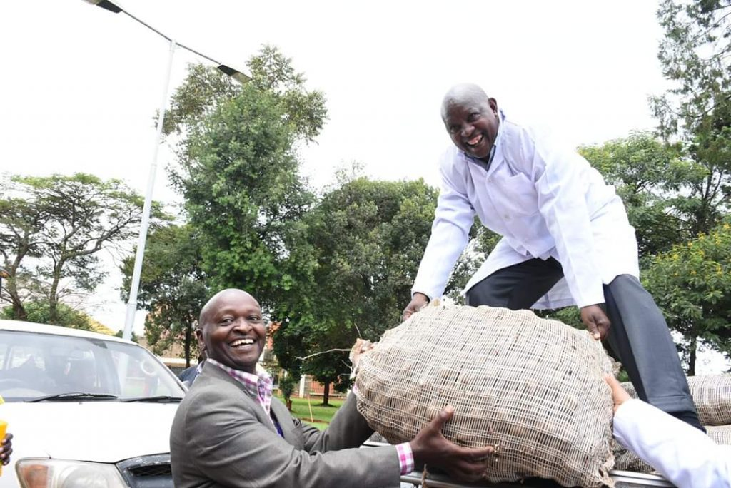 Nyeri County distributes seeds to farmers 1
