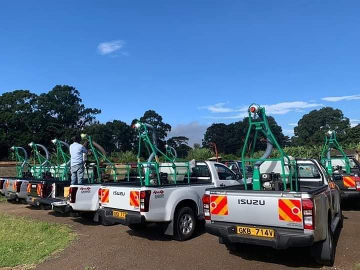 NARIGP project donates vehicles to Kenya 2