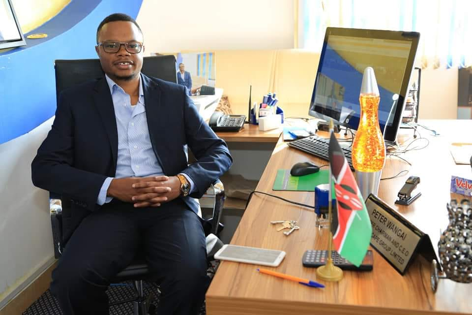 Peter Wangai CEO Goldenscape