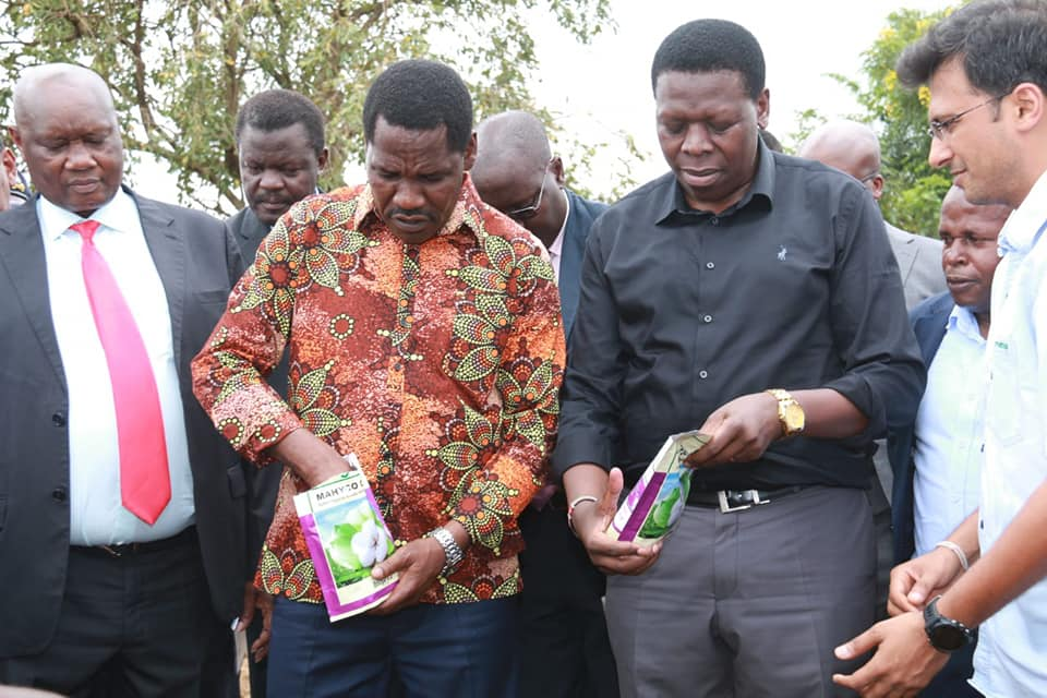 Kenya plants the first BT Cotton seed 2