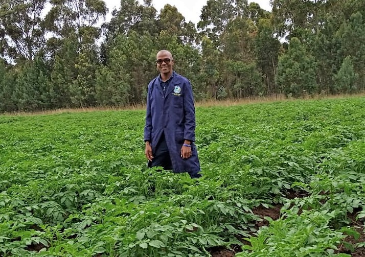 Youth ventures into seed potato production 2