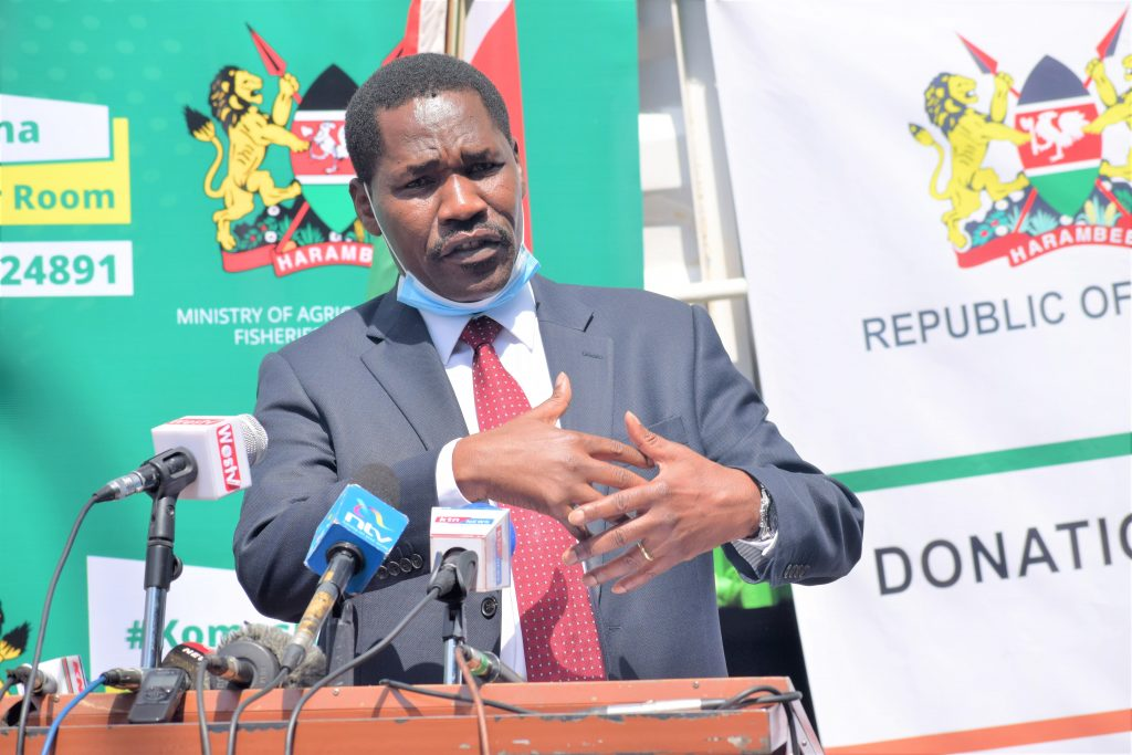 Counties receive potato basic seed to produce certified seeds 1
