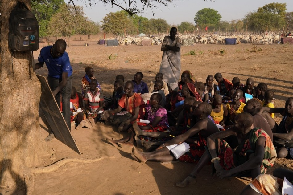Learning whilst herding in South Sudan 2