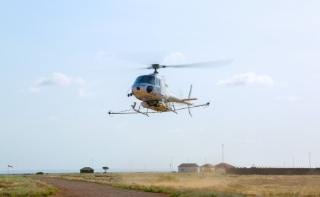 Their office in the air: Helicopter pilots fighting Desert Locusts 2