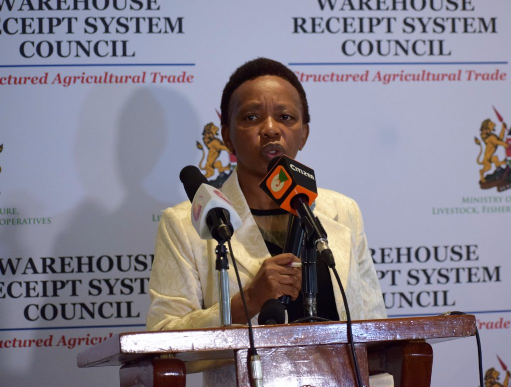 Chair of the WRS Council Mrs Mumbi Ngige