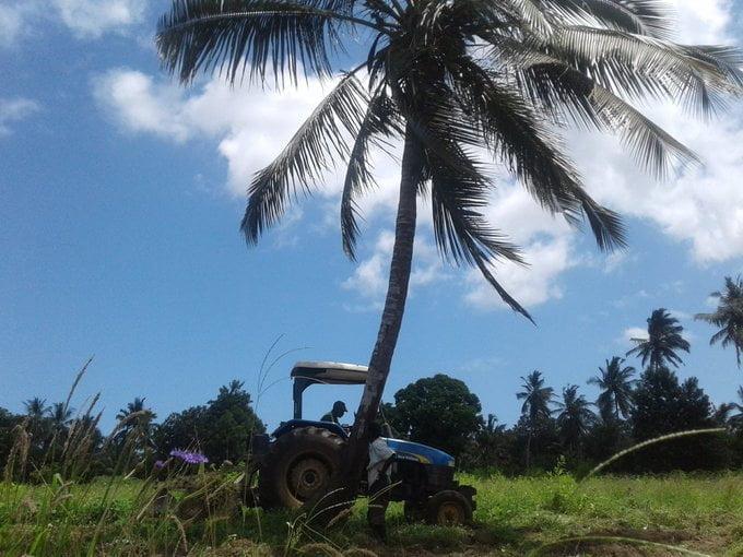 Caleb Karuga tractor