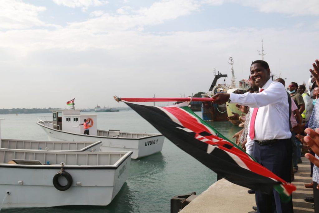 Munya commisioning boats