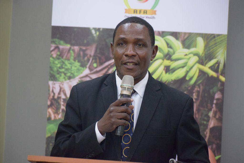 Agriculture CAS Lawrence Omuhaka
