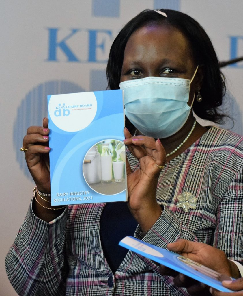 Kenya Dairy Board Managing Director Margaret Kibogy