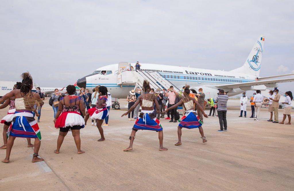 Reception of the flight