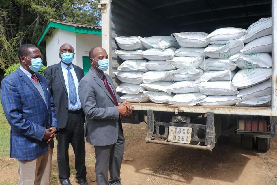 Nyandarua fertilizer distribution
