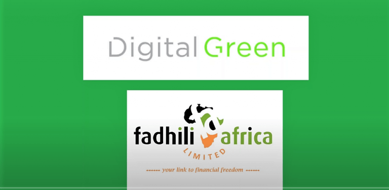 Digital Green Fadhili Africa logos