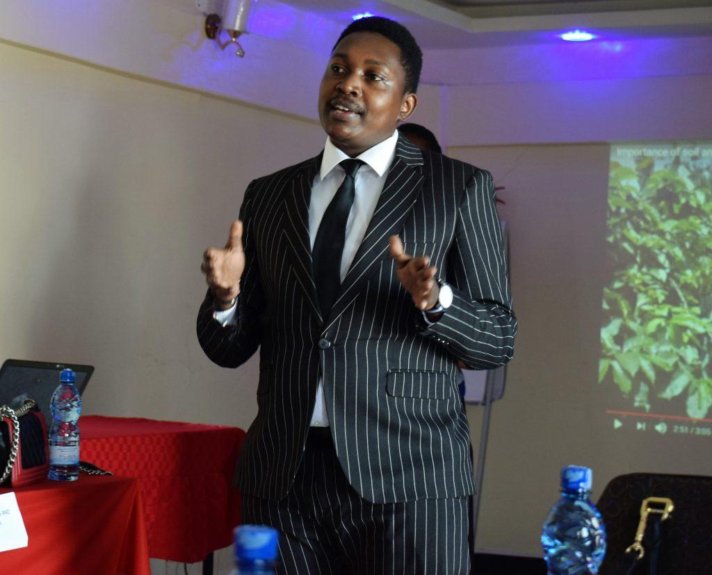 Bernard Njathi the Commercial Director of Lofte Kesho
