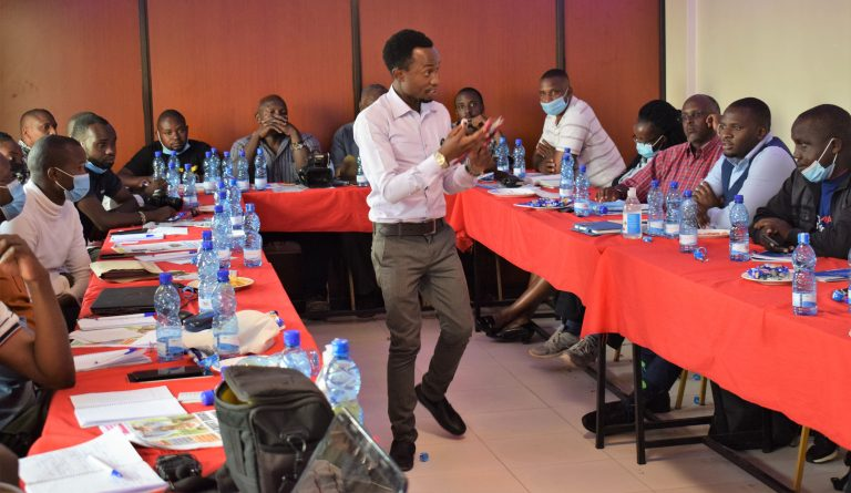 Delegates during the stakeholders meeting