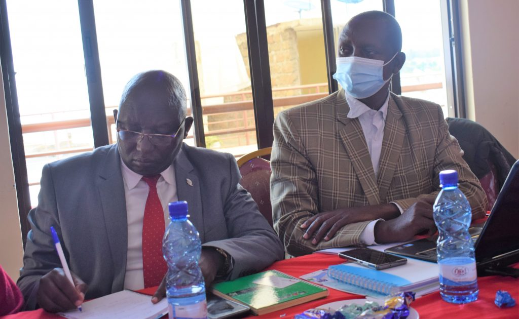 Dr. David ole Letuati the Agriculture Chief Officer Director of Veterinary services Saitoti Saaya