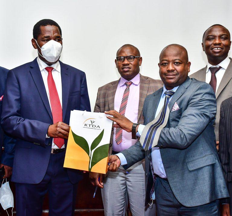 CS Munya inducts new KTDA Board