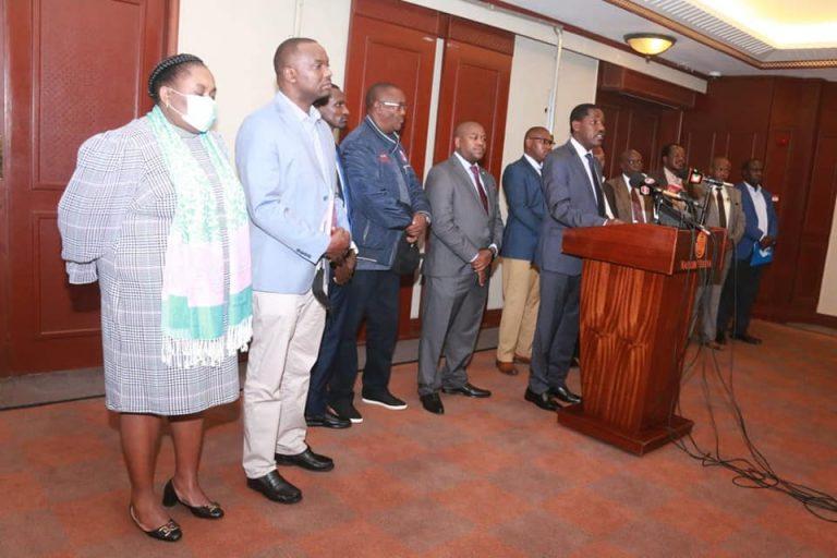 Munya with KTDA Directors