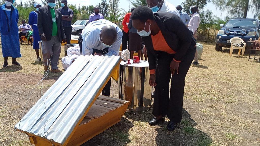 Nakuru beehives 2