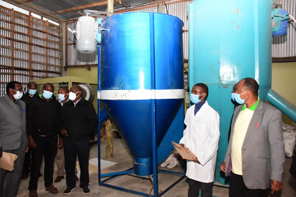 Nyeri Poultry feed plant