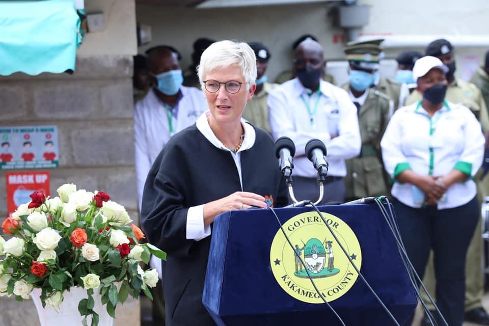 Swedish Ambassador Madam Caroline Vicini