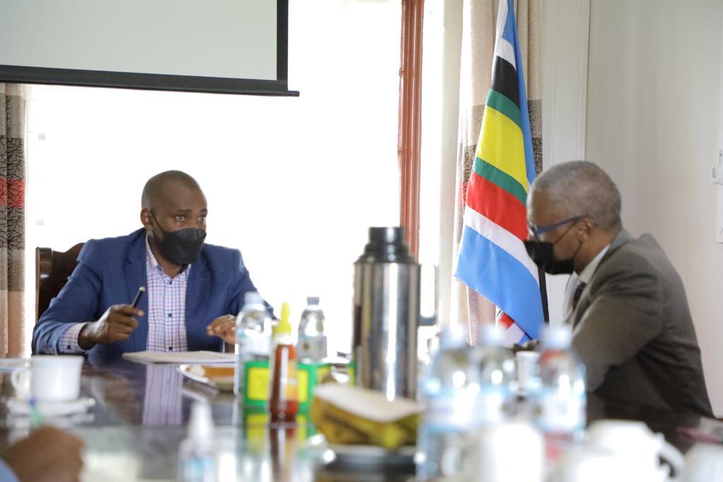 Hon. Frank Tumwebaze with the FAO Delegation