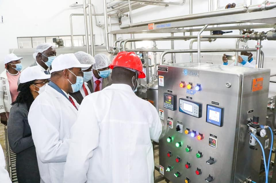 Olkalou Dairy plant Commissioning 1