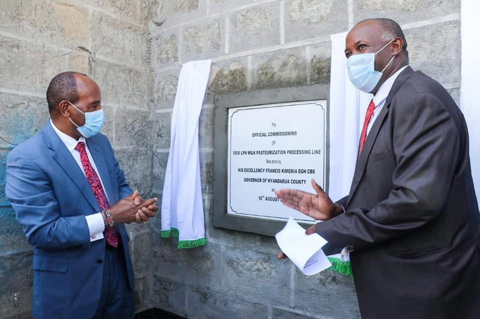 Olkalou Dairy plant Commissioning 2