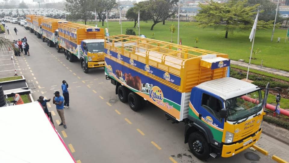 Kitui Livestock carriers